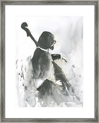 Waiting On Solo Framed Print