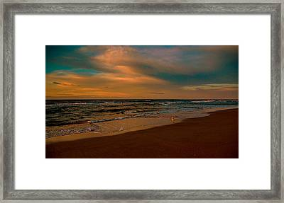 Waiting On The Dawn Framed Print