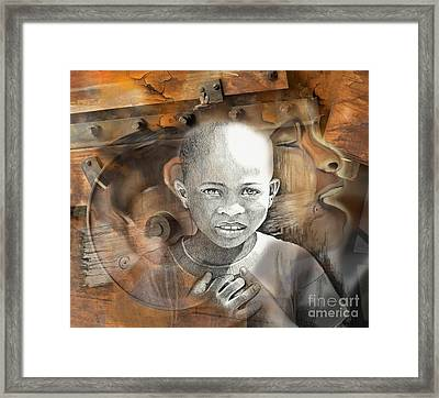 Waiting On The World To Change Framed Print by Bob Salo