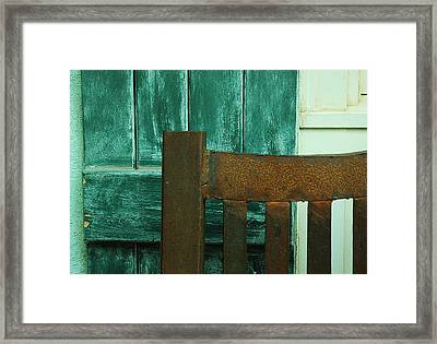Waiting On You Framed Print by Lori Mellen-Pagliaro