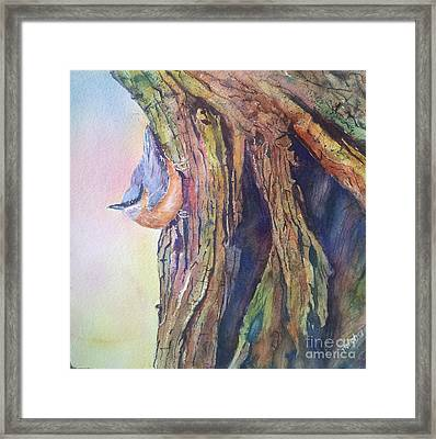 Waiting Framed Print by Patricia Pushaw