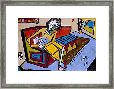 Waiting Room 24x36 Framed Print