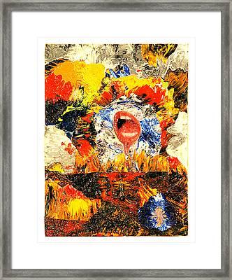 Waiting Room Framed Print by Howard Goldberg