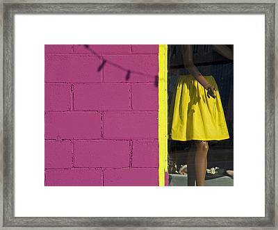Waiting Framed Print by Skip Hunt