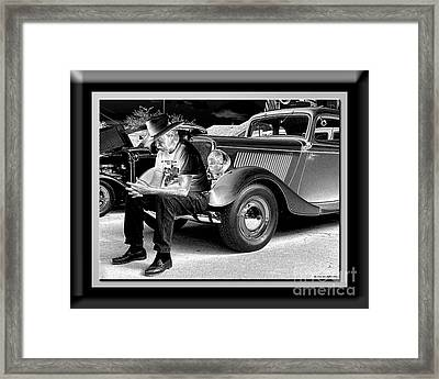 Waiting  Framed Print by Sue Stefanowicz