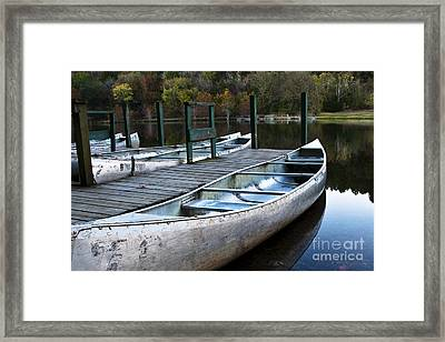 Framed Print featuring the photograph Waiting by Tamyra Ayles