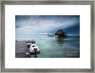 Framed Print featuring the photograph Waiting The Sun by Yuri Santin
