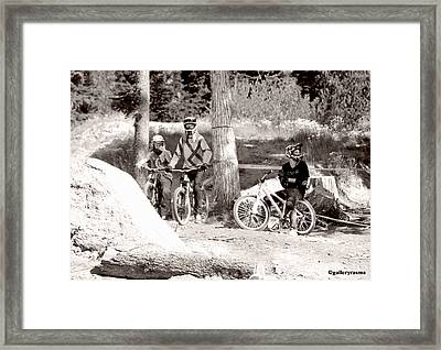 Waiting Their Turn Framed Print
