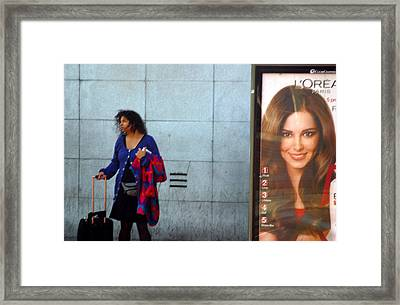 Waiting To Be You Framed Print by Jez C Self