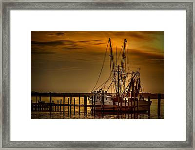 Waiting To Go Framed Print