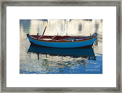 Waiting To Go Fishing Framed Print