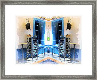 Waiting To Open Framed Print by Clare Bevan
