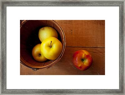 Waiting Framed Print by Toni Hopper
