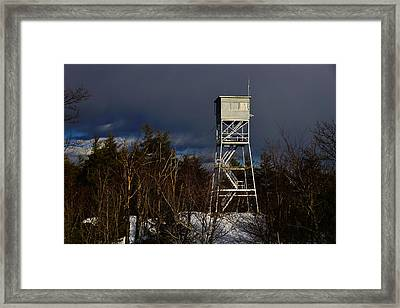 Waiting Tower Framed Print