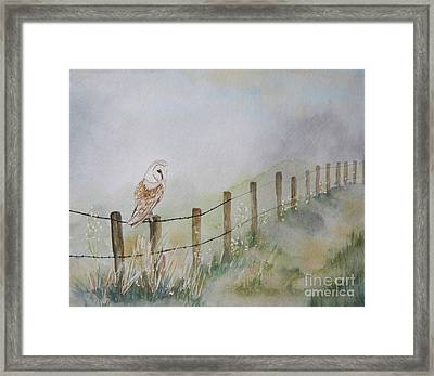 Waiting Framed Print by Tracey Hunnewell
