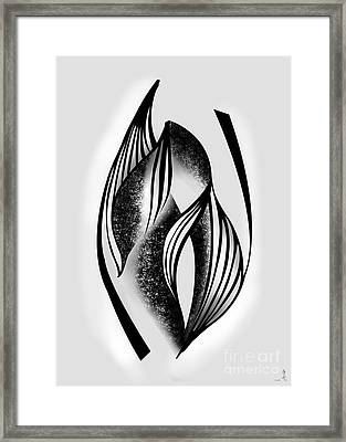 Waiting With Curiosity Framed Print
