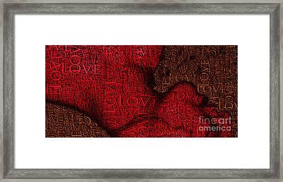 Waiting With Love Framed Print by Prar Kulasekara