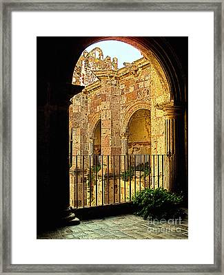 Waiting Within Framed Print