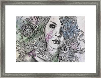 Wake Framed Print