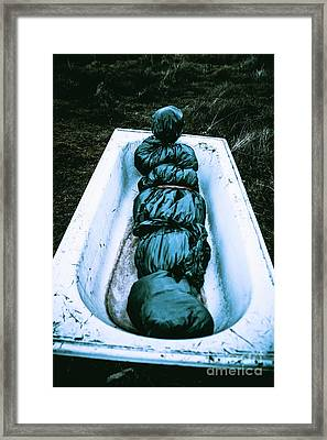 Wake Of A Killers Trail Framed Print by Jorgo Photography - Wall Art Gallery