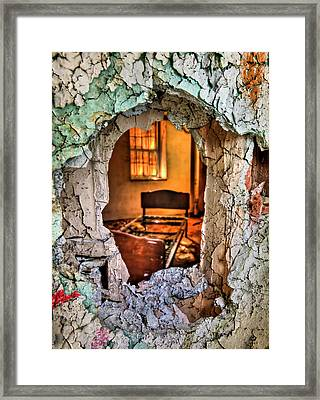 Wake Up And Smell The Misery Framed Print