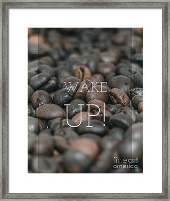 Wake Up Framed Print by Edward Fielding