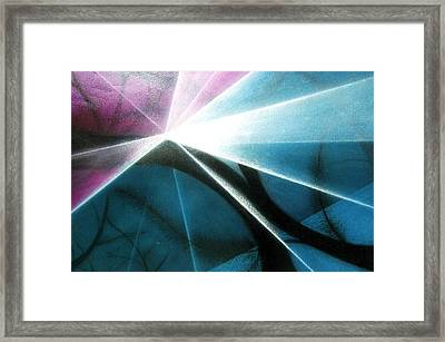 Wake Up In The Forest Framed Print by Kumiko Mayer