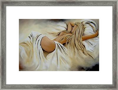 Wake Up  Framed Print by Lori McPhee