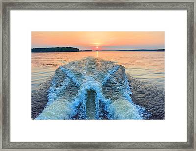 Wake Up To A New Day Framed Print