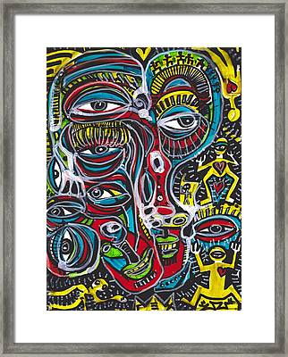 Waking From A Dream Framed Print by Robert Wolverton Jr