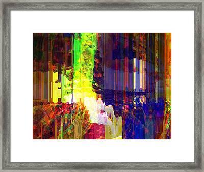 Waking Up Happy Framed Print by Fania Simon