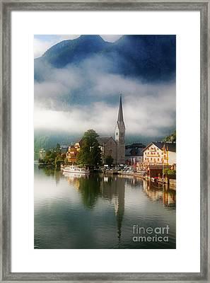 Waking Up In Hallstatt Framed Print