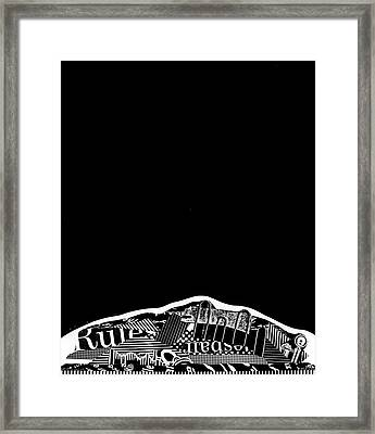 Waking Up Framed Print