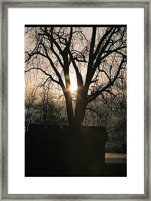 Wakonda Sunrise B Framed Print by C E McConnell
