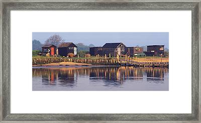 Walberswick Reflections Framed Print