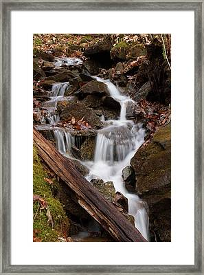 Walden Creek Cascade Framed Print