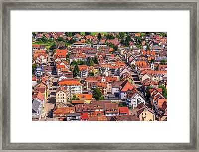 Waldkirch 2 Framed Print by Shuwen Wu