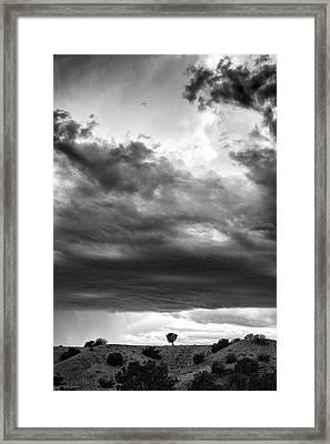 Waldo Canyon New Mexico Framed Print