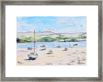 Wales Framed Print by Shaina Stinard
