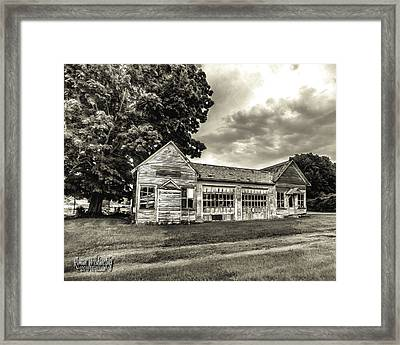 Walholding Post Office Framed Print