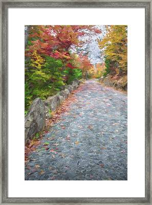 Walk Along II Framed Print by Jon Glaser