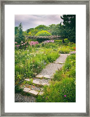 Walk Among The Wildflowers Framed Print by Jessica Jenney