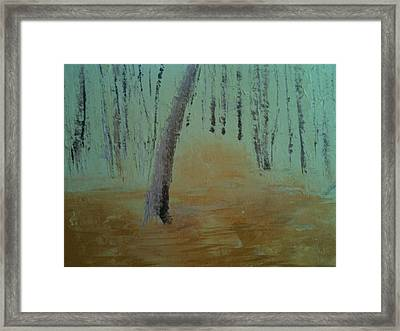 Walk-in Framed Print