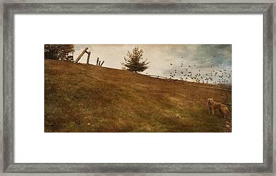 Walk Framed Print by Inesa Kayuta