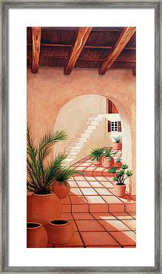Walk Into The Light - Prints Made From Original Oil Paintings By Mary Grden Framed Print