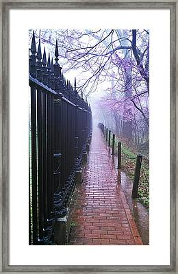 Walk Into The Light Framed Print