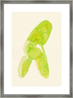 Walk - #ss14dw035 Framed Print by Satomi Sugimoto