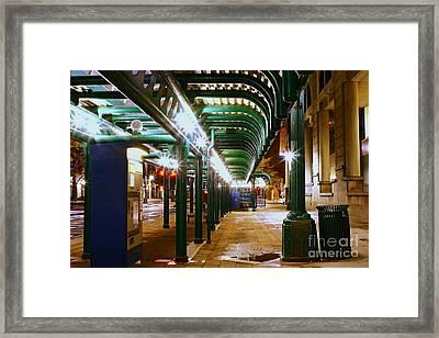 Walk This Way Framed Print by Daniel J Ruggiero