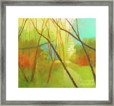 Walk Through 3 Framed Print