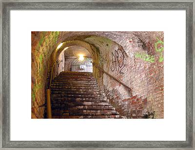 Walk To Freedom Framed Print by Jez C Self